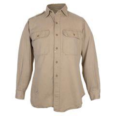 Original US Khaki Cotton Shirt - 38R
