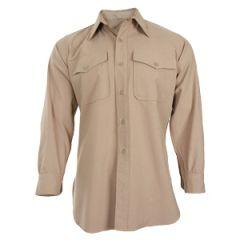 "Original US Khaki Wool Shirt - 38"""
