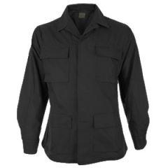 US Style Ripstop Field Jacket - Black