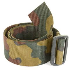 Original Belgian Army 120cm Jigsaw Camo Belt