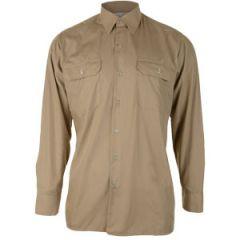 Original Long Sleeve German Service Shirt - Khaki