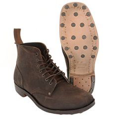 British WW1 B5 Leather Boots by William Lennon