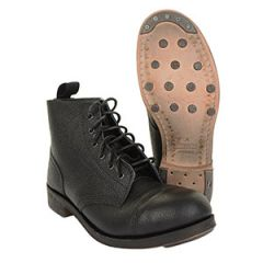 British WW2 Leather Ammo Boots