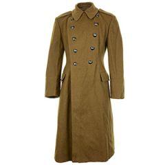 Original Romanian Army Wool Greatcoat