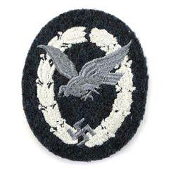 WW2 German Qualified Cloth Luftwaffe Air Gunner Badge