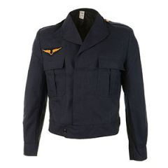 Original French Air Force Ike Jacket - Blue