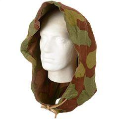 Original Italian Camo Field Jacket Hood