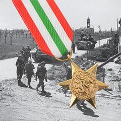 British WW2 Italy Star Medal
