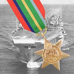 British WW2 Pacific Star Medal