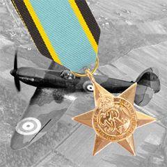 British WW2 Air Crew Europe Star Medal