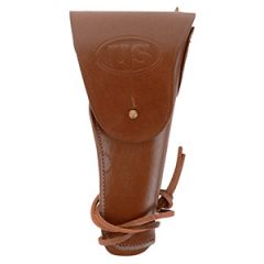 US M1916 Colt Pistol Holster with Brass Fittings - Brown