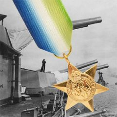 British WW2 Atlantic Star Medal