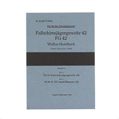 WW2 German Fallschirmjager FG42 Manual