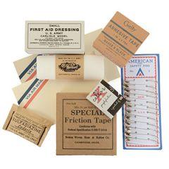 WW2 US D-Day Pocket Pack Filler Set
