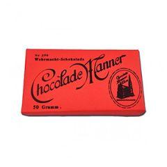 WW2 German Manner Chocolate Label