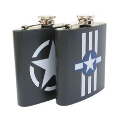 Stainless Steel Hip Flask 6oz
