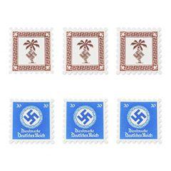 WW2 German Postage Stamp Set