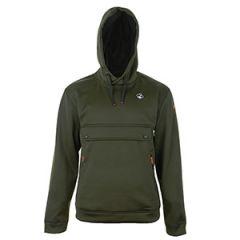 Hooded Sweatshirt - Khaki Green