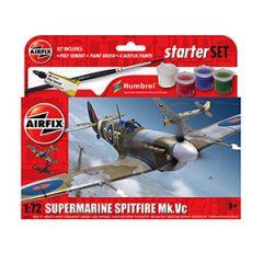 Airfix Supermarine Spitfire MkVc Starter Set
