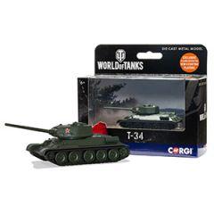 World of Tanks Die Cast T34 Tank