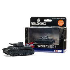 World of Tanks Die Cast Panzer IV Ausf. II