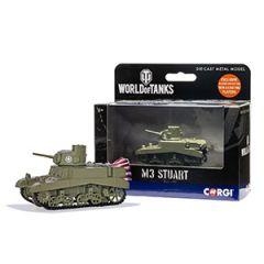 World of Tanks Die Cast M3 Stuart