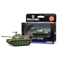 World of Tanks Die Cast M48 Patton Tank