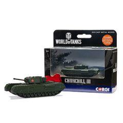 World of Tanks Die Cast Churchill Mk.III
