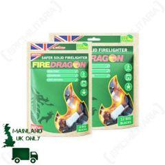 FireDragon Solid Fuel Blocks