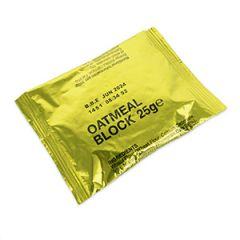 British Army 25gm Oatmeal Block Packs