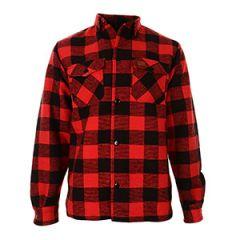 Lumberjack Flannel Shirt - Red