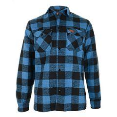 Lumberjack Flannel Shirt - Blue