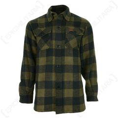 Lumberjack Flannel Shirt - Olive
