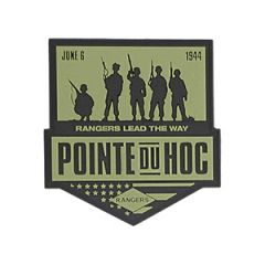 Point Du Hoc PVC Badge