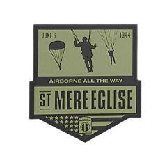 St Mere Eglise PVC Badge