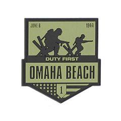 Omaha Beach PVC Badge