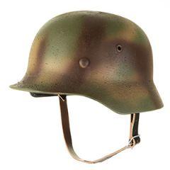German M40 Helmet 3-Colour Camo - 54/55cm