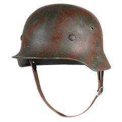 German M35 3 Colour  Camo Helmet - 56/57 cm