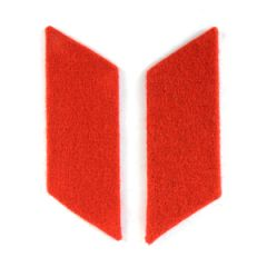 Russian Army Collar Tabs - Red