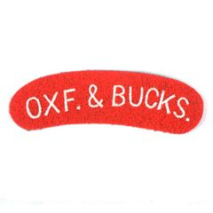 Oxf. & Bucks shoulder titles Thumbnail
