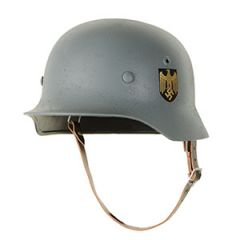 WW2 German M40 Kreigsmarine Helmet Lightly Aged - 56/57cm
