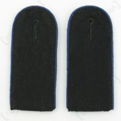 Waffen SS EM Shoulder Boards (Navy blue piped) main
