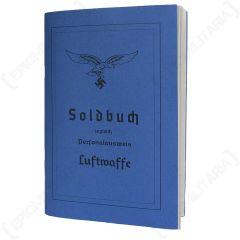 German Luftwaffe Soldbuch - Economy