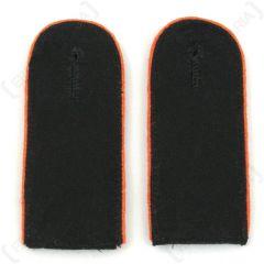 Waffen SS EM Shoulder Boards (Orange piped) main