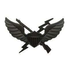 US Air Assault Badge (1st Pattern) - Black