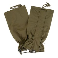German 3-Layer Laminate Cold Weather Gaiters - Olive Drab