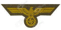 Kriegsmarine Tropical Tunic Eagle - Tan backing