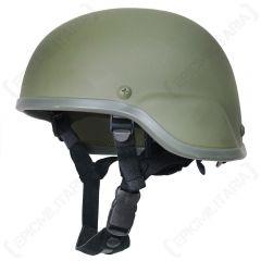 US Fibreglass Helmet - Olive 4