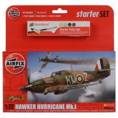 Airfix Hawker Hurricane Mk I Starter Set