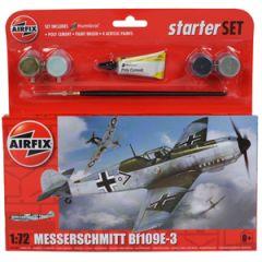 Airfix Messerschmitt Bf109E Starter Set